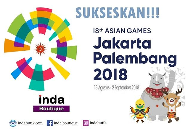Indabutik mendukung Asian Games 2018 630x450 - Asian Games 2018 Recruitment