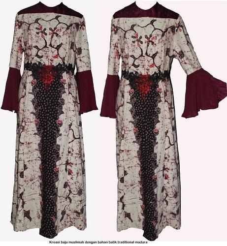 Dress Muslimah-01 Batik
