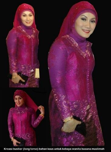 Bustier Kebaya Muslimah-01