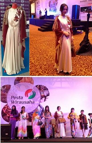Booth Indabutik PWU 2014 – Fashion Show