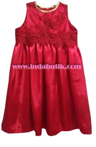 Dress Merah Putri Tante Helen