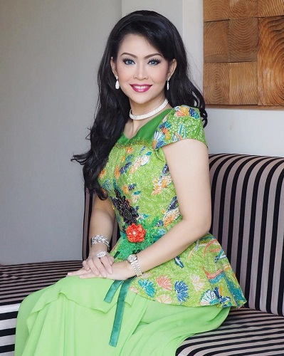 Dress Hijau Premium Mbak Ratna Listy