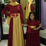Dress Merah untuk Kel. Mbak Nia