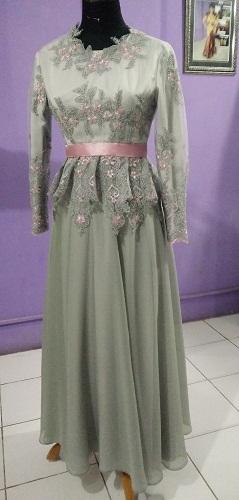 Dress Kebaya Silver