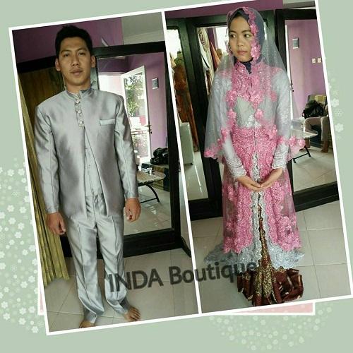 Kreasi Dress Pengantin Muslim