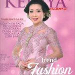 Kreasi Indabutik di Cover Majalah Kebaya 2018