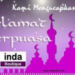 Selamat Ibadah Ramadhan 1439 H