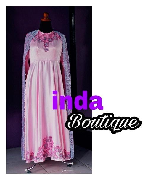 Dress Pink Pesanan Ibu Ulia