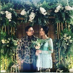 Lovely Engagement Mbak Oki with Couple Dress by Indabutik Cibubur Cileungsi