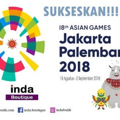 Indabutik mendukung suksesnya Asian Games 2018 Jakarta Palembang