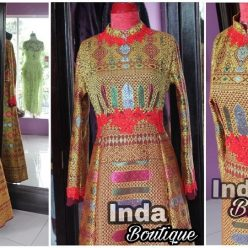 Songket Gown