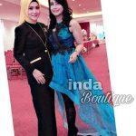 Dress Pesta Cantik Warna Biru Elektrik Pesanan Mbak Lia Yang Cantik