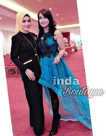 Dress cantik modern by Indabutik