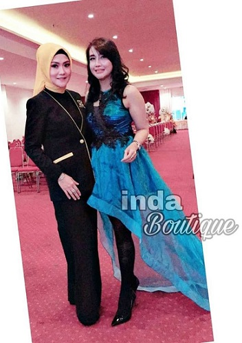 Dress cantik modern by Indabutik
