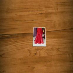 Dress Merah Cantik Pesanan Mbak Lia di Rafles Hill - Cibubur by Indabutik