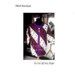 Blouse Batik untuk Ibu Sari di Cariu - Jonggol by Indabutik
