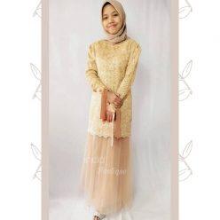 Dress Cantik untuk Kak Nisa di Kota Wisata Cibubur by Indabutik