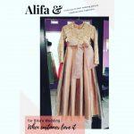 Gaun Cantik Special untuk Dek Alifa di Kota Wisata, Cibubur