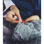 Proses Tisik Bahan di Indabutik