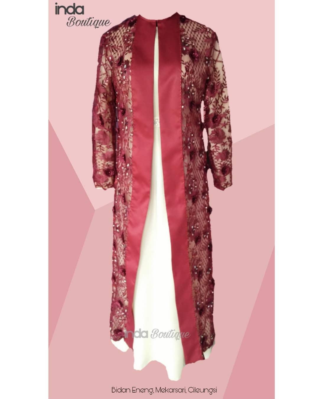 Dress Cantik untuk Bidan Eneng di Mekarsari, Cileungsi by Indabutik