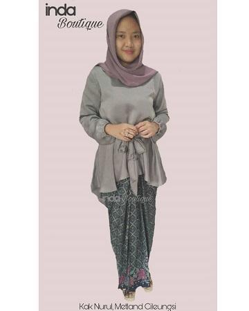 Dress untuk Kak Nurul di Metland Cileungsi by Indabutik