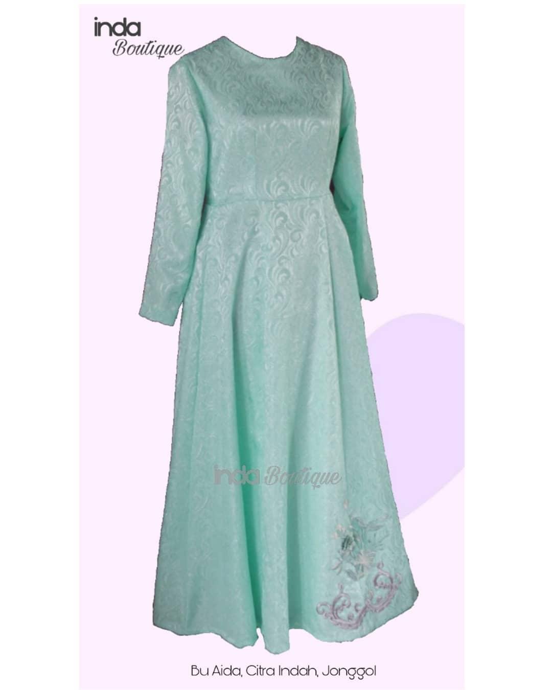 Gaun Cantik untuk Ibu Aida di Citra Indah, Jonggol by Indabutik