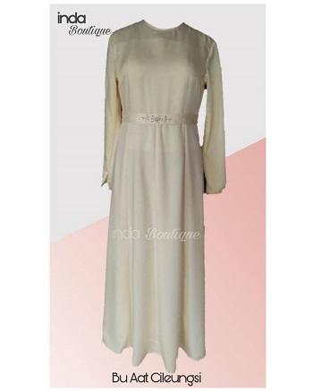 Dress Anggun untuk Ibu Aat di Cileungsi by Indabutik