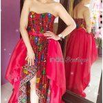 Fitting Gaun Merah Pesanan Kak Emilia di Rafles Hills, Cibubur