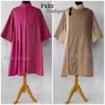 Jahit Baju Lurik Unik untuk Ibu Sari di Cariu by Indabutik