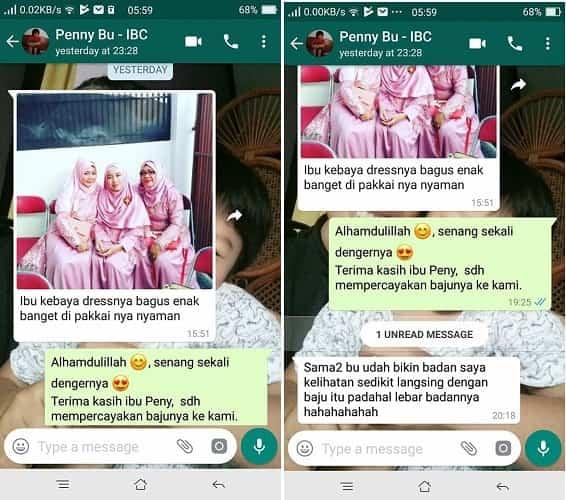 Testimoni_Kebaya_Dress_Ibu_Penny by Indabutik