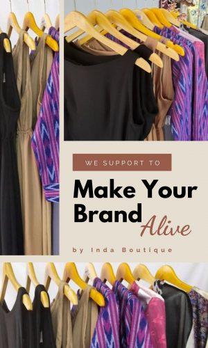 Inda Boutique Makloon Baju Olshop